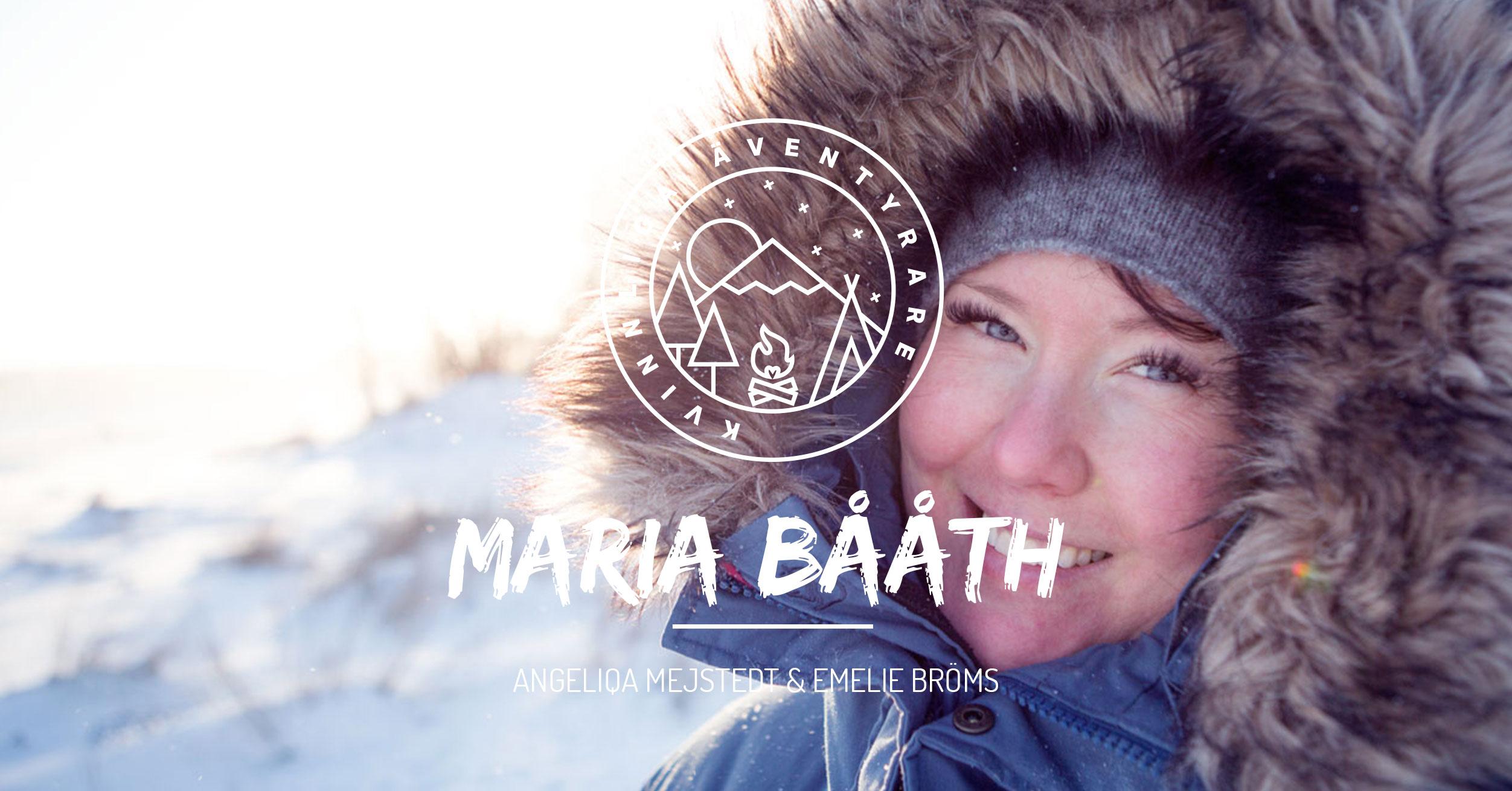Maria Strömberg Bååth Kvinnliga Äventyrare podcast